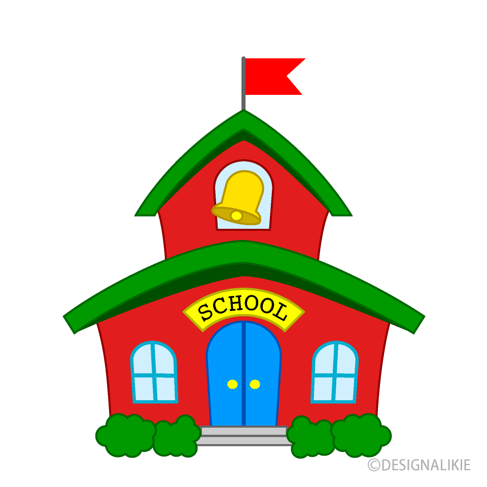 Small School Clipart Free Picture|Illustoon.