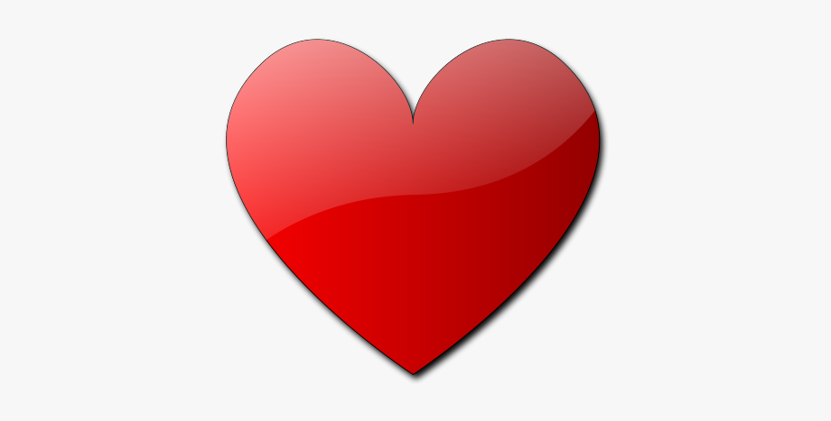 Red Heart Clipart Free.