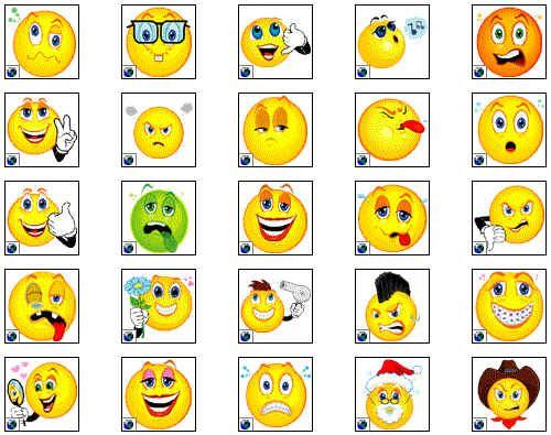 smiley face clip art.