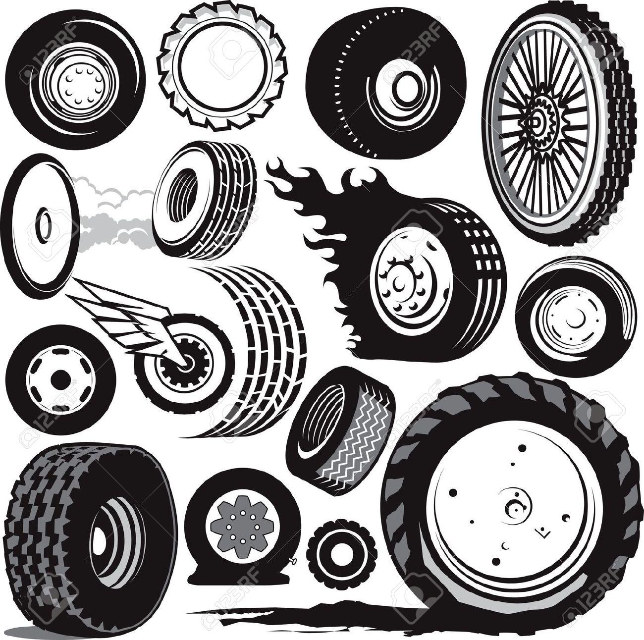 Showing post & media for Cartoon racing wheel clip art.