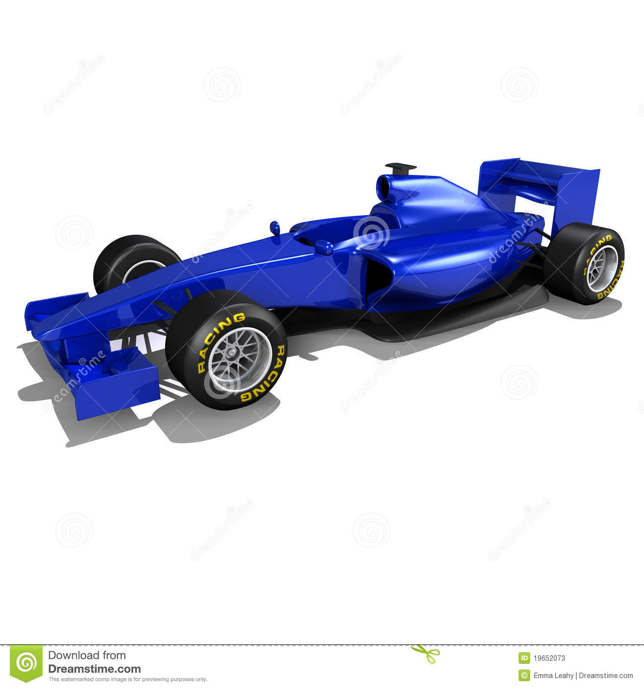 Free Smoking Race Car Clipart.