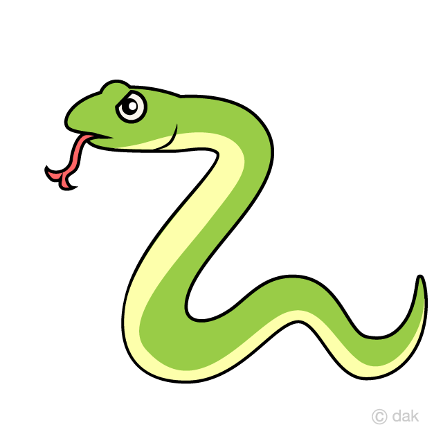 Squiggly Snake Clipart Free Picture|Illustoon.