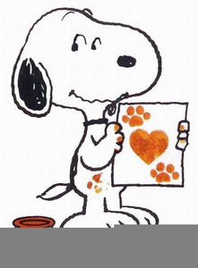 Free Snoopy Clipart.