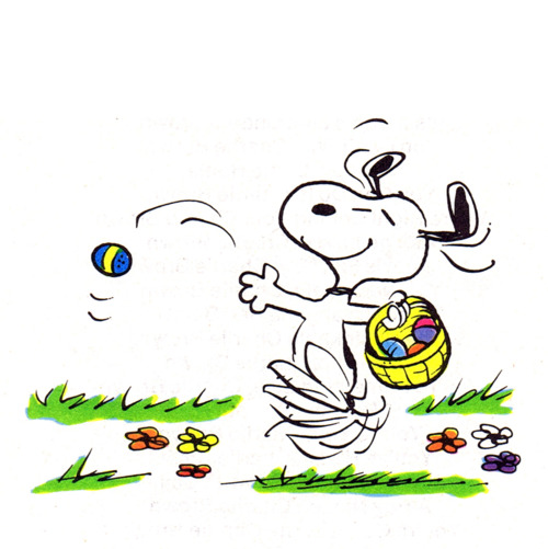 Snoopy Easter Beagle free image.