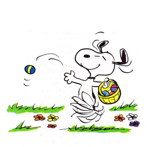 Snoopy Easter Beagle free image.