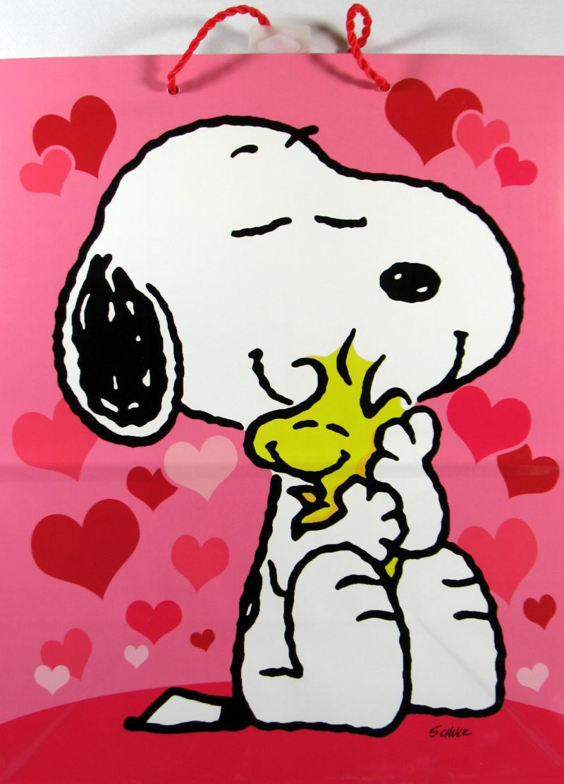 Free download Snoopy Valentines Day Gift Bag Snoopn4pnutscom.