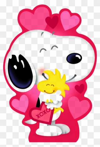 Free PNG Snoopy Valentines Day Clip Art Download.