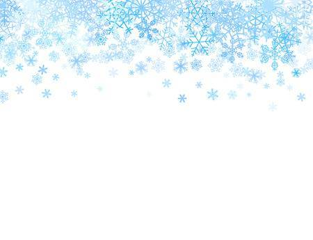 Download Free png Christmas snowflake border clipart 5.