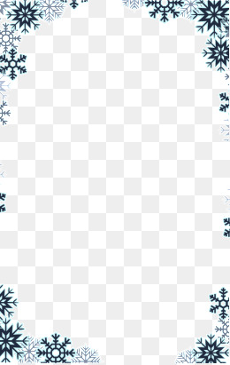Free snowflake border clipart 5 » Clipart Station.