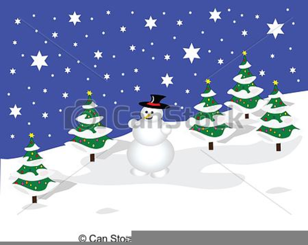 Free Clipart Winter Scene Images At Clker Com Vector Clip Complex.