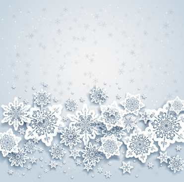 Snowflake clipart background free vector download (52,823.