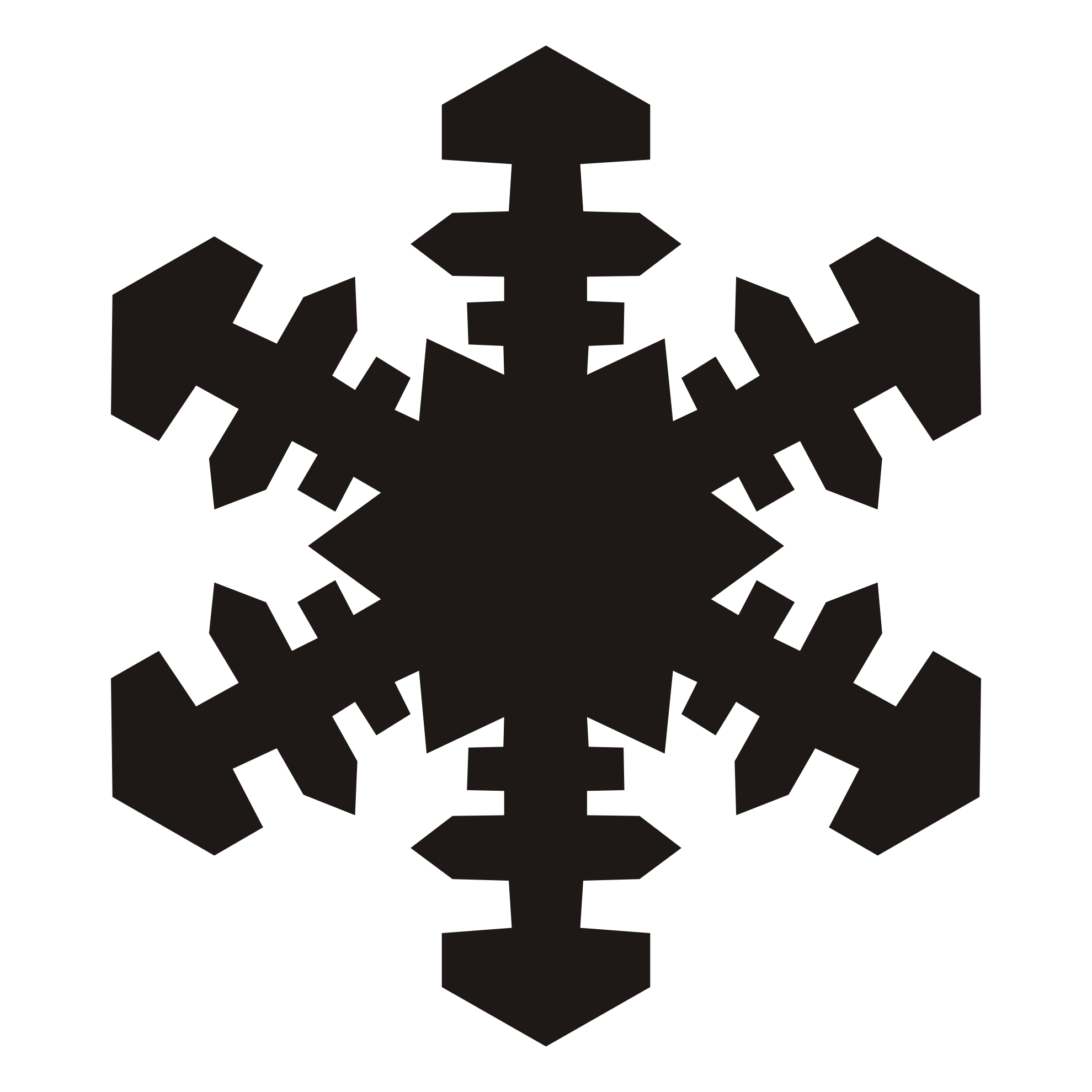 Free Snowflake Silhouette Cliparts, Download Free Clip Art.