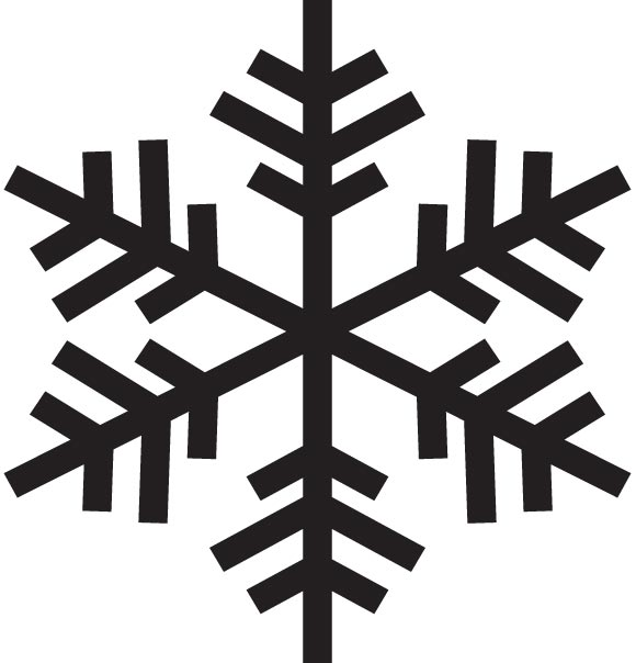Free Snowflake Silhouette Vector, Download Free Clip Art.