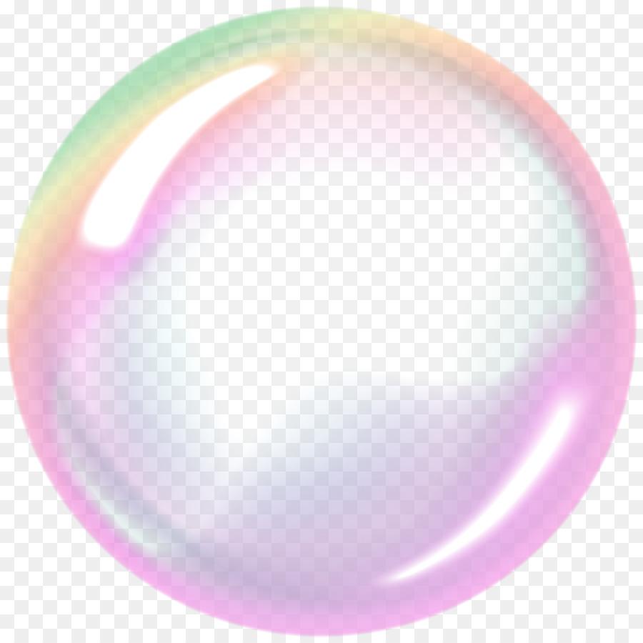 Soap bubble Sphere Clip art.