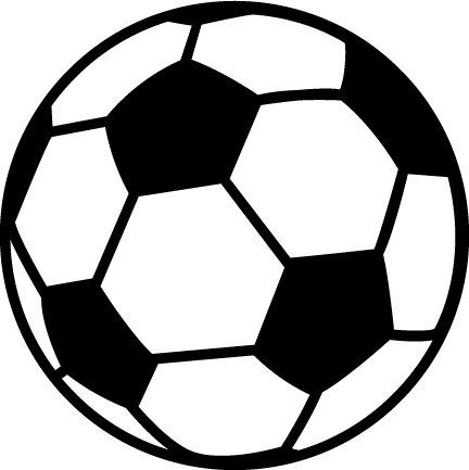 Soccer ball clipart free 1 » Clipart Station.