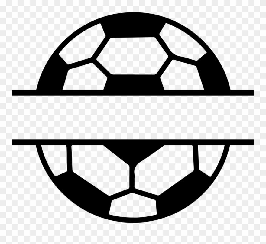 Split Soccer Ball Albb Blanks Banner Free Stock.