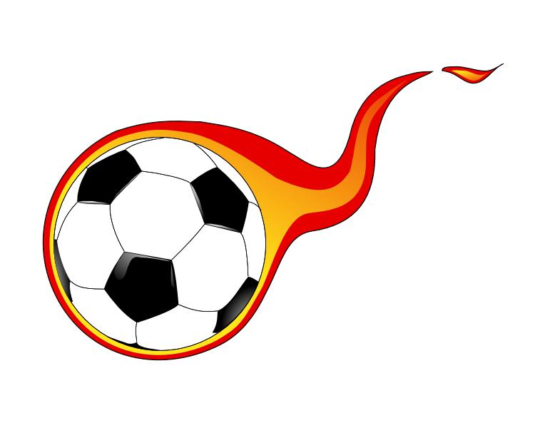 Kids Soccer Ball Clipart.