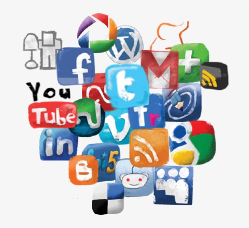 Social Media Icon Set.