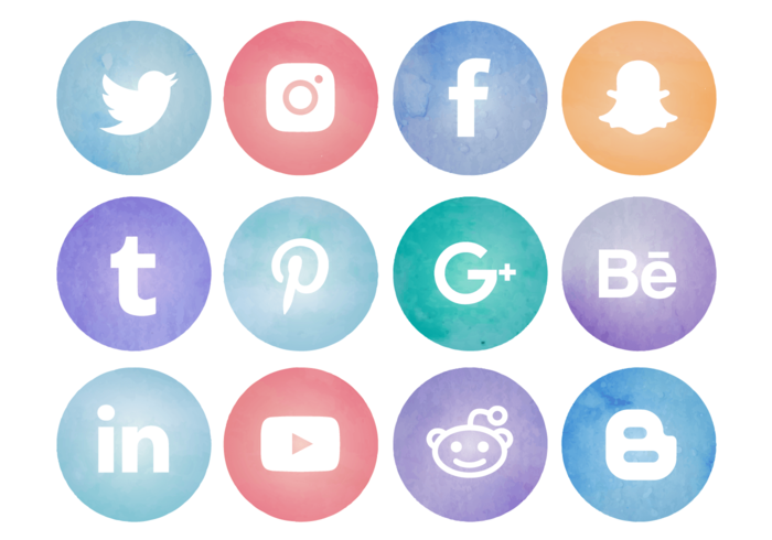 HQ Social Media PNG Transparent Social Media.PNG Images..