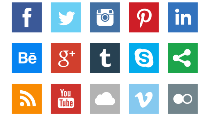 12 Free Social Media Icon Sets and Icon Fonts for Apps and Websites.