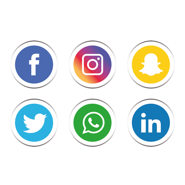 Free Social Media Icons Png (99+ images in Collection) Page 1.