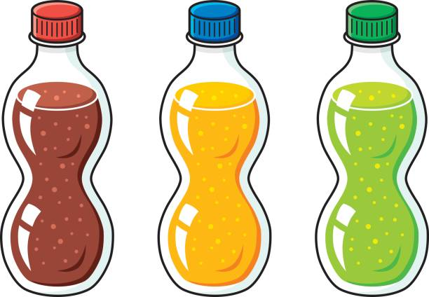 Soft Drinks Bottle Clipart.