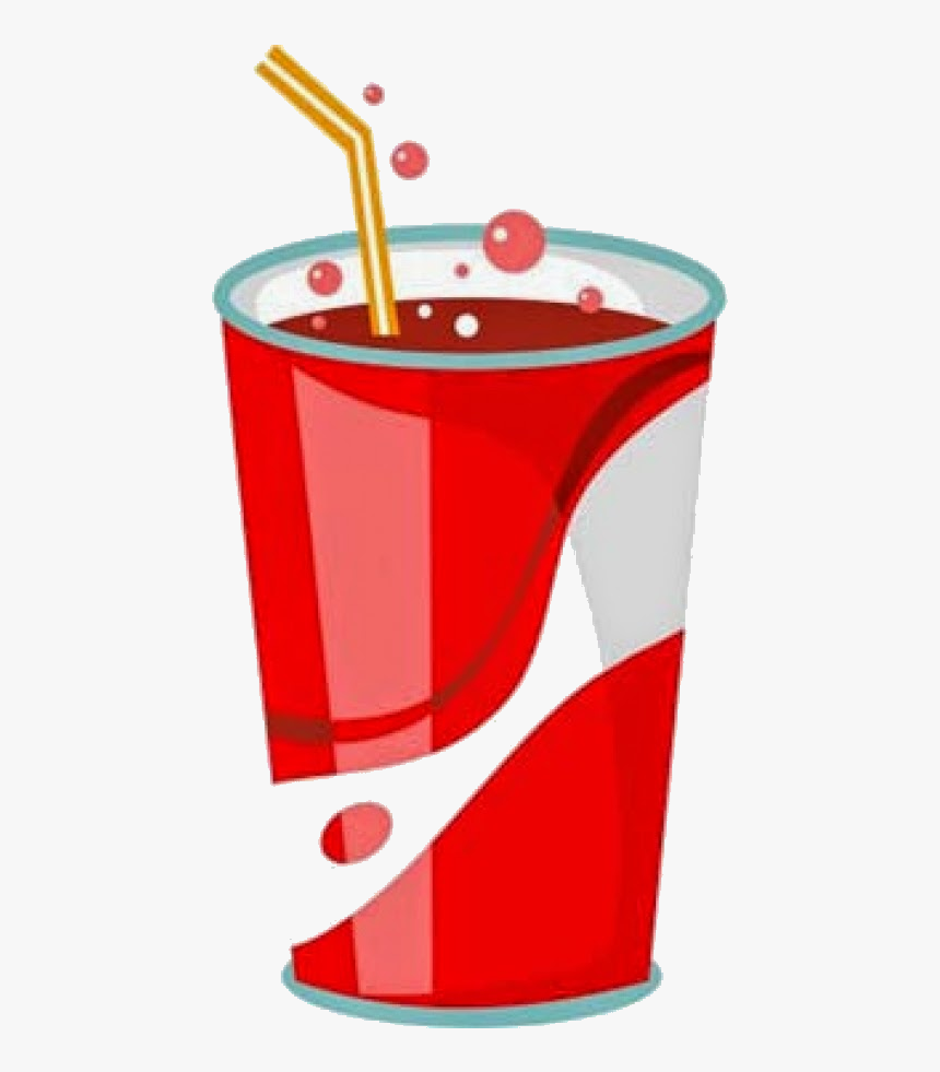 Soda Free Soft Drinks Cliparts Clip Art On Transparent.