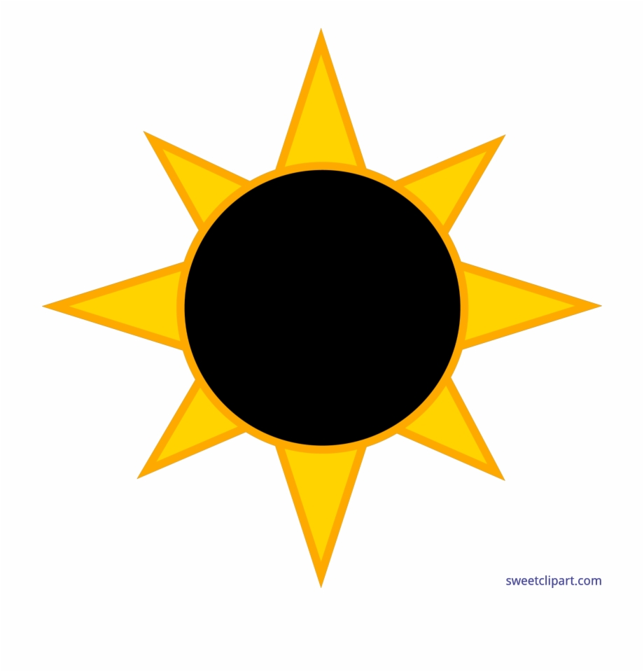 Solar Eclipse Sun Clip Art.