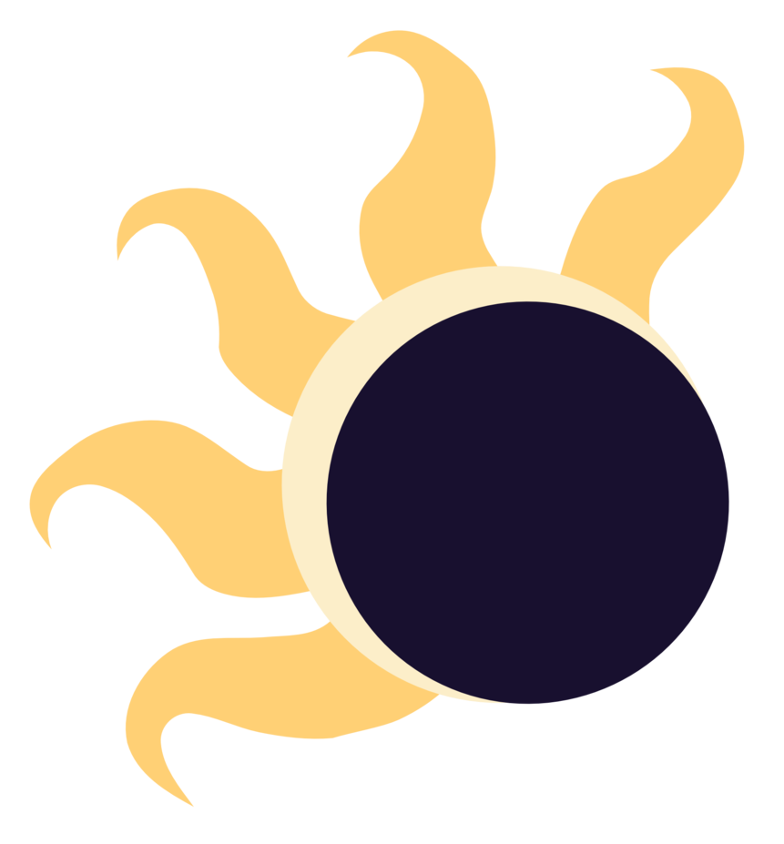 Solar Eclipse Drawing.