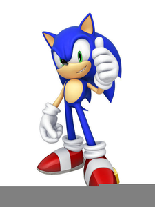 Sonic Hedgehog Clipart.