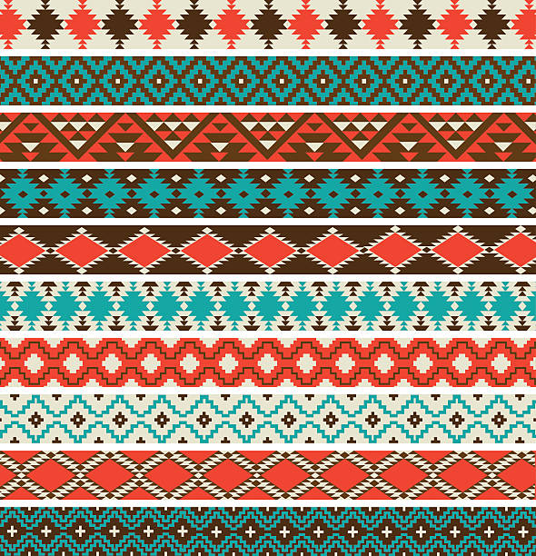 Best Southwestern Pattern Illustrations, Royalty.
