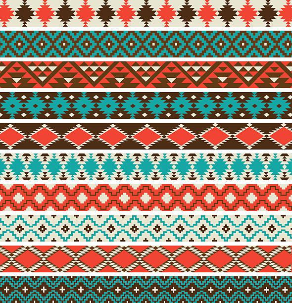 Best Southwestern Pattern Illustrations, Royalty.