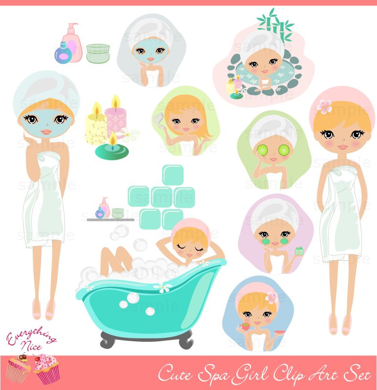Free Spa Girl Cliparts, Download Free Clip Art, Free Clip.