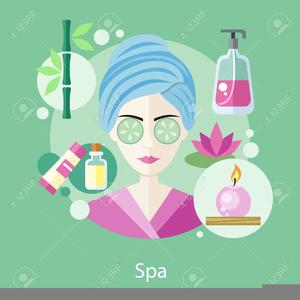 Salon Spa Clipart.