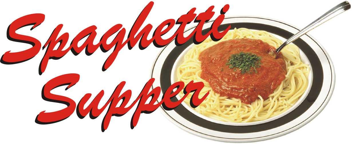 Spaghetti Dinner Clipart Free.