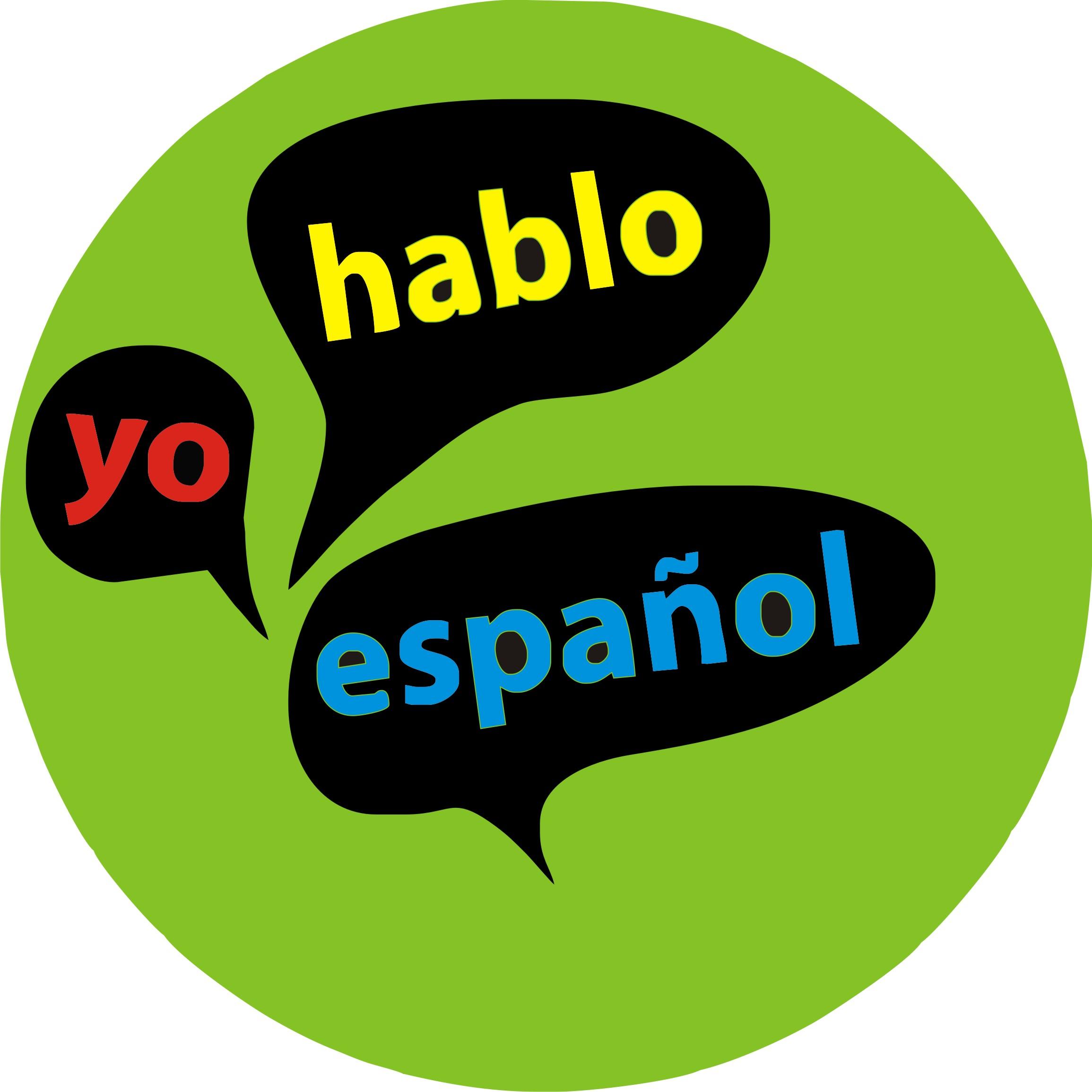 Spanish Language Clip Art free image.
