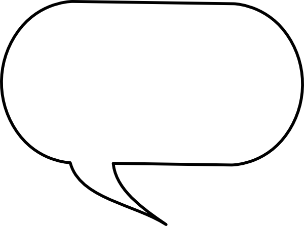 Free Speech Bubble Best Images Clipart #15292.