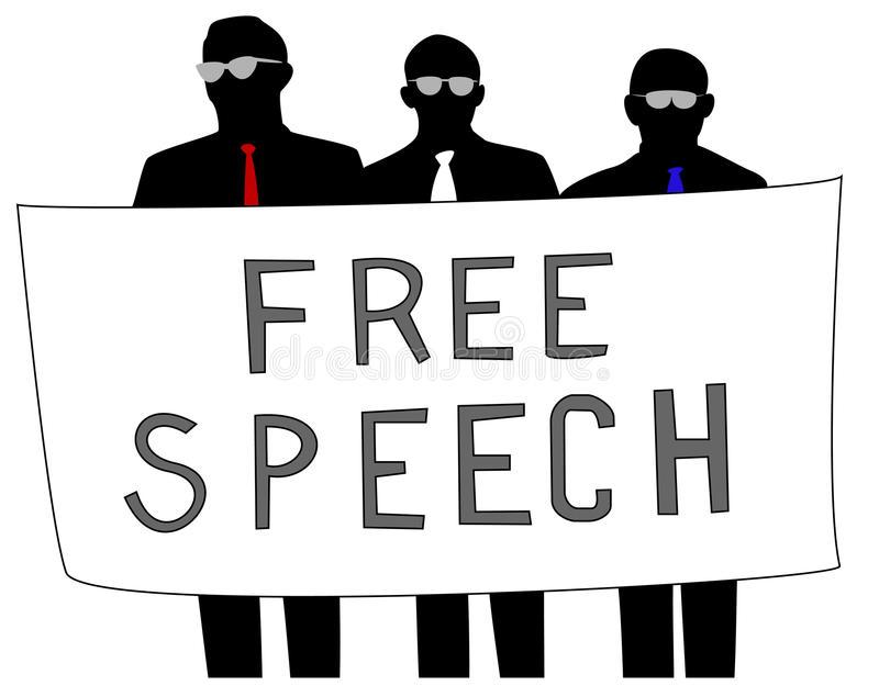 Free Speech Stock Illustrations.