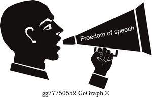 Freedom Of Speech Clip Art.