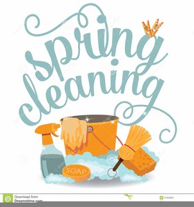 Free Spring Cleaning Clipart.