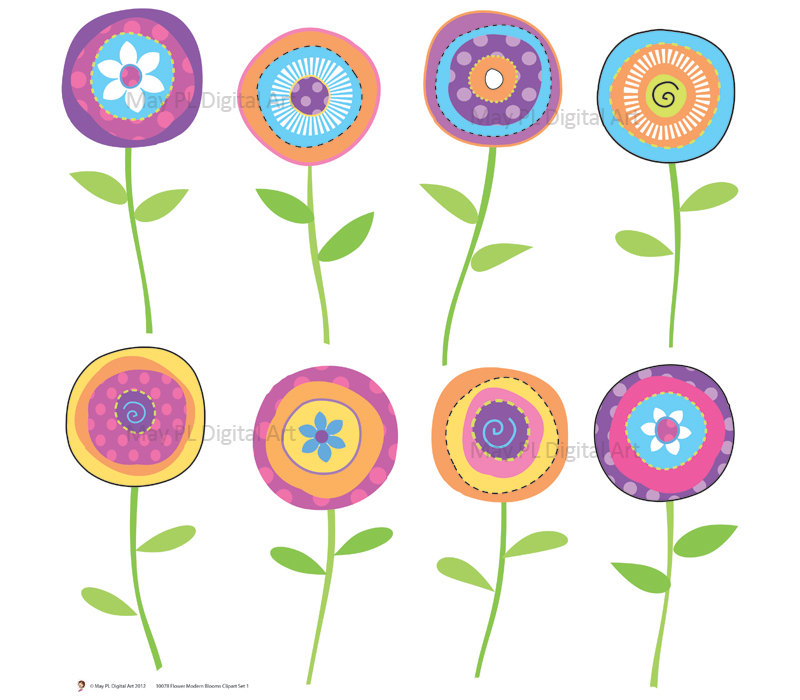 Free Spring Clipart Flowers.