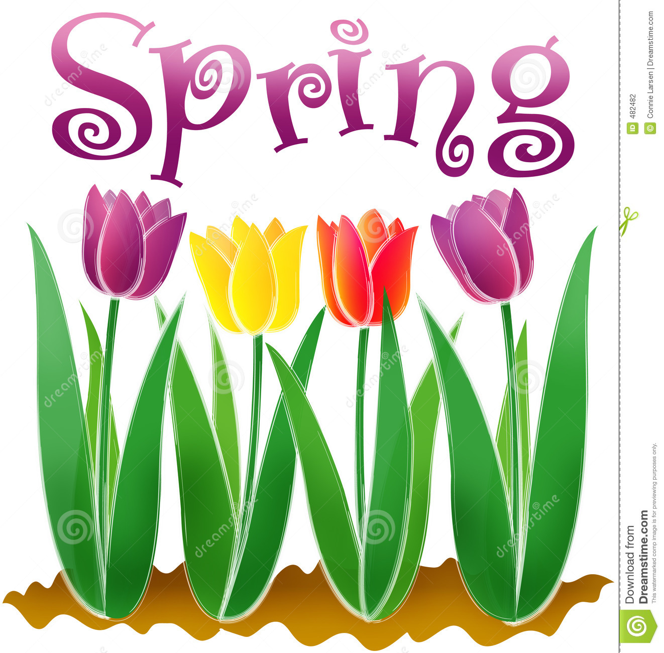 10171 Spring free clipart.