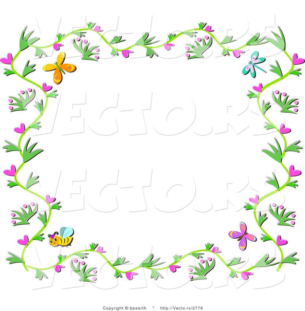 Free Spring Flowers Borders, Download Free Clip Art, Free.