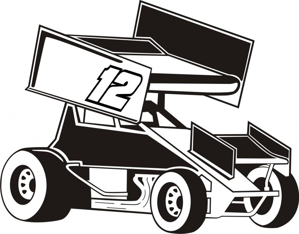 Sprint Car Clip Art & Look At Clip Art Images.