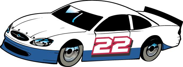 Free clipart nascar cars clipartfest 4.
