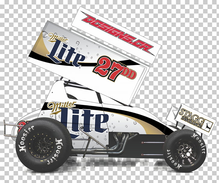 Sprint car racing World of Outlaws Decal, Sprint Car Racing.