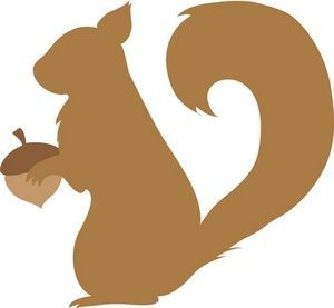 Squirrel Silhouette Clipart Free Clip Art Images.