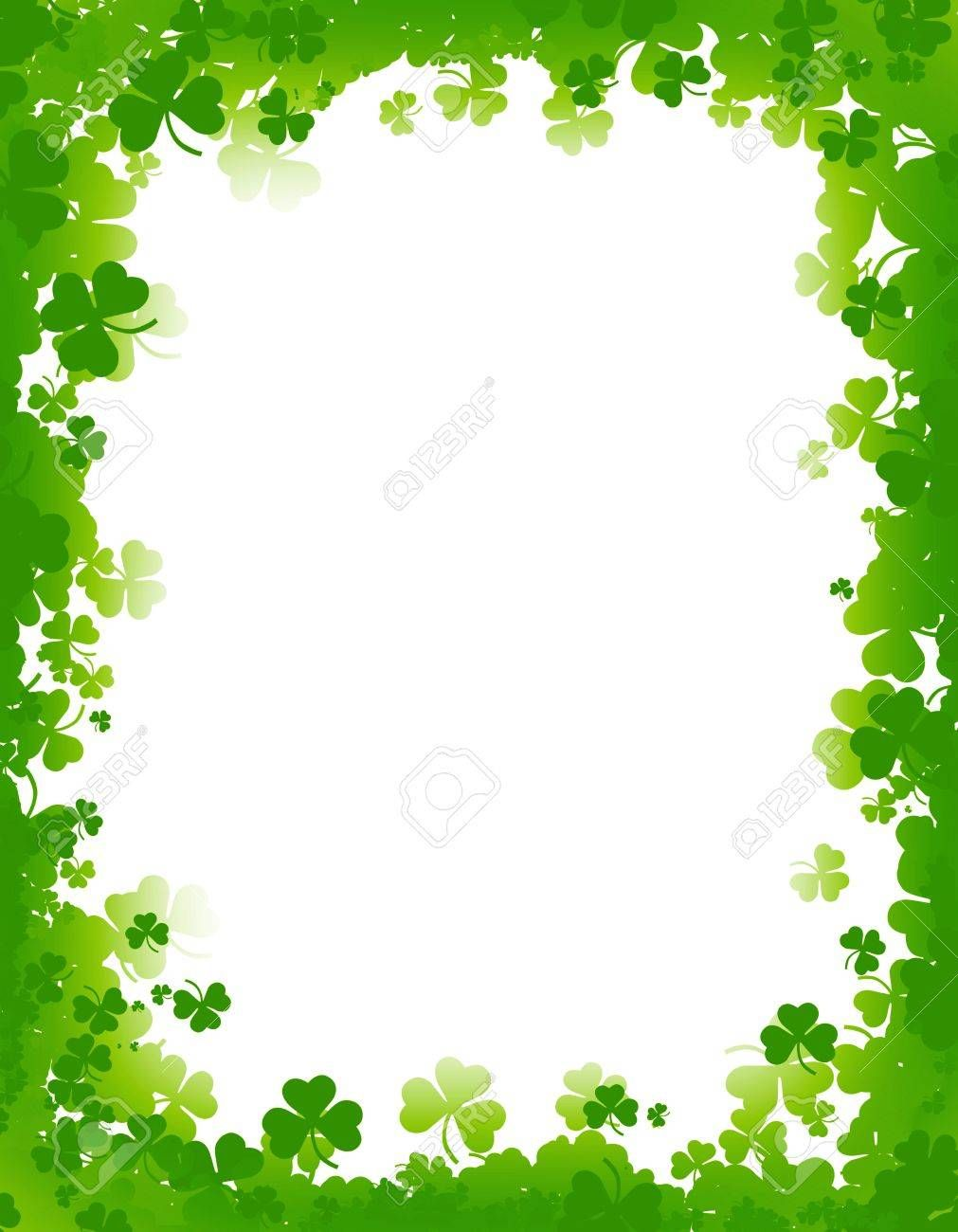 St Patricks Day Clipart Banners Borders Free Download in.