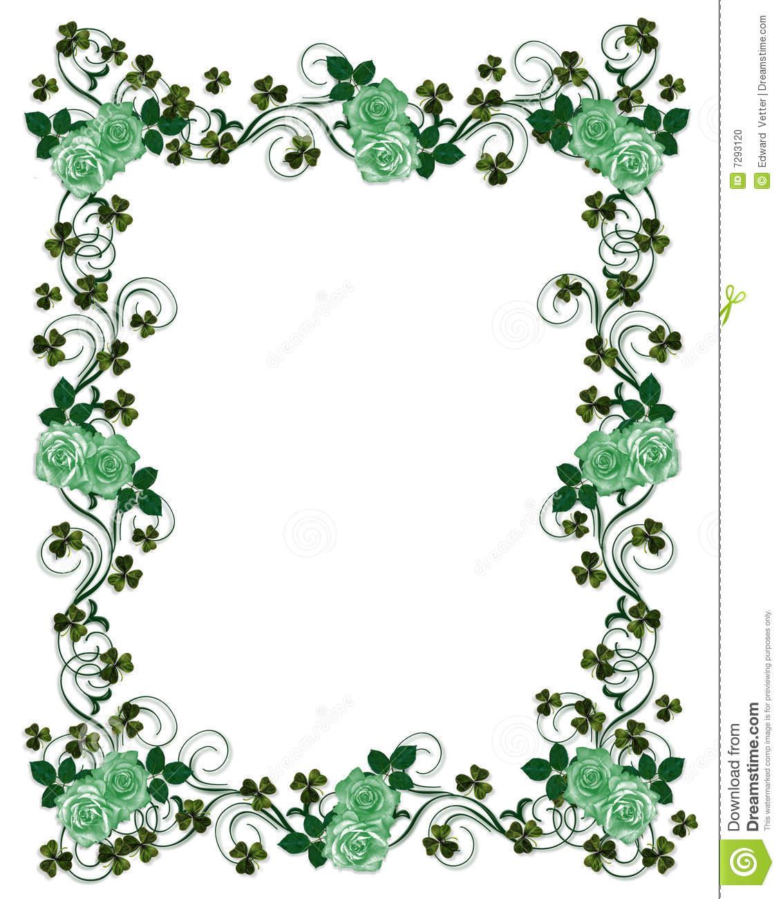 St Patricks Day border stock illustration. Illustration of patricks.