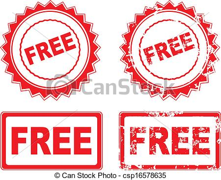 Free rubber stamp.